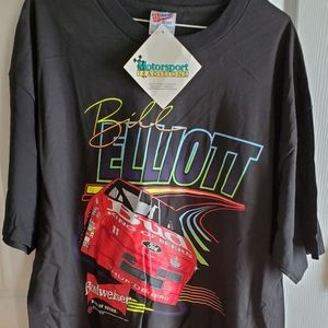 NEW Vintage 1993 Bill Elliott Budweiser Shirt XL